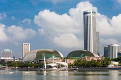 Esplanade Theatre, Singapore - stock photo