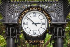 Stock Photo of Singapore Botanic Gardens