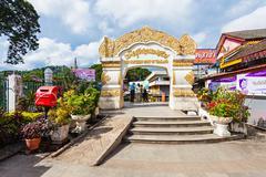 Thailand Myanmar border - stock photo