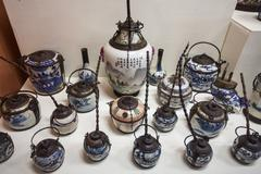 Hall of Opium Museum Stock Photos