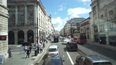 Piccadilly Road, London, Time Lapse Stock Video. Stock Footage