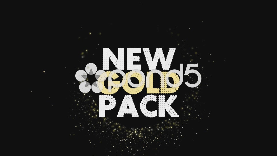 After Effects Project - Pond5 New Gold Pack 55759149