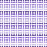 Purple and White Polka Dot  Abstract Design Tile Pattern Repeat Background - stock illustration