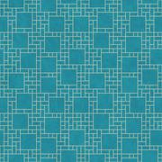Teal and Yellow Square Abstract Geometric Design Tile Pattern Repeat Backgrou Stock Illustration
