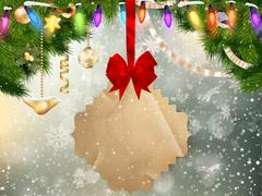 Jingle bells background. EPS 10 Stock Illustration