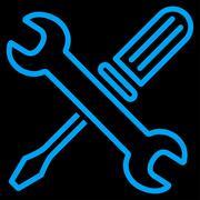 Tuning Tools Icon Stock Illustration