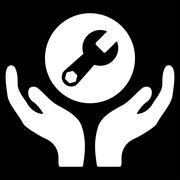 Maintenance Icon - stock illustration