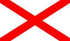 Northern Ireland Flag Stock Illustration
