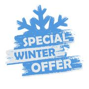Stock Illustration of special winter offer