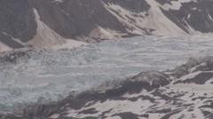 Esmark glacier, Spitsbergen Svalbard, Blue Ice - stock footage