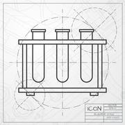 Test-tube Stock Illustration