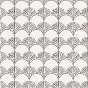 Seamless hand-drawn floral pattern Stock Illustration