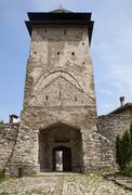Stock Photo of Orthodox monastery Studenica in Serbia on a sunny day