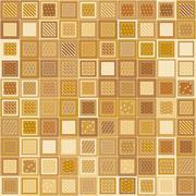 Stock Illustration of Mosaic Bricks