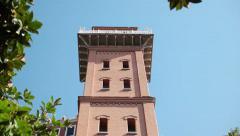 Izmir Asansor Elevator - Dario Moreno street Stock Footage