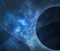 3d abstract fractal illustration background for creative design Stock Illustration