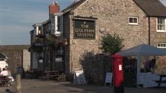 British Tavern Stock Footage