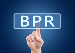 Business Process Reengineering - stock illustration