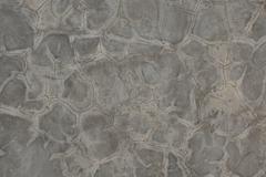 Background of Crack on Polish Concrete Wall - stock photo