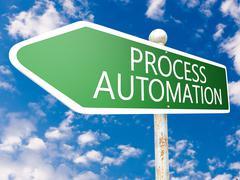 Stock Illustration of Process Automation