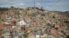 Houses of La Paz Stock Footage
