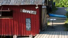 Stockholm archipelago, Sweden - stock footage