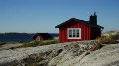 Stockholm archipelago, Sweden Stock Footage