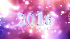 New Year 2016 Countdown Animation Arkistovideo