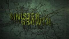 Sinister Growth - Creeping Organic Mess Logo Stinger - stock after effects