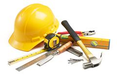 carpentry tools - stock photo