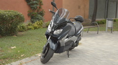 Very Clean Scooter Bike - stock footage