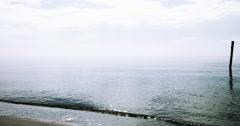 View of ocean waves Stock Footage