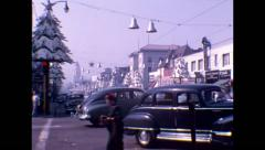 Los Angeles CA 1950s Stock Footage