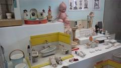 Toy Museum at the Prague Castle. Czech Republic. Stock Footage