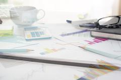 business management - stock photo
