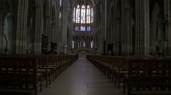Paris Cathedral 2 Stock Footage