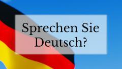 Sprechen Sie Deutsch Stock Footage