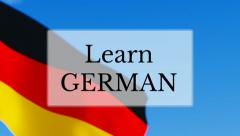 Learn German Stock Footage