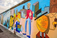 Berlin Wall - East Side Gallery - stock photo