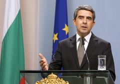 Bulgaria President Plevneliev Budget Veto Stock Photos