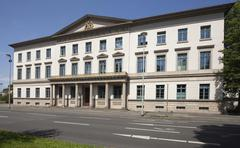 Wangenheim Palace or Wangenheimpalais Lower Saxony Ministry of Economics Stock Photos