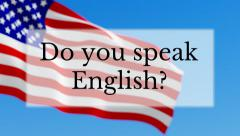 Do you speak English Stock Footage