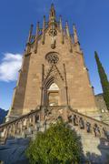 Mausoleum of Archduke Johann Schenna TrentinoAlto Adige Province of South - stock photo
