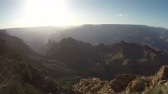 Afternoon Grand Canyon shot fifteen Stock Footage