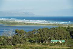 Stock Photo of View of Walker Bay Nature Reserve near Hermanus Garden Route Western Cape South