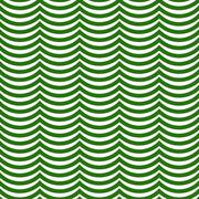 Green and White Wavy Stripes Tile Pattern Repeat Background - stock illustration