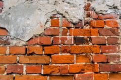 Stock Photo of old red brickwork