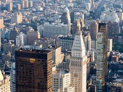 Midtown New York City including the Metropolitan Life Tower Stock Photos