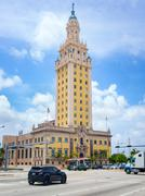 The Freedom Tower at downtown Miami Kuvituskuvat
