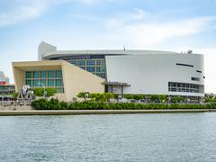 The American Airlines Arena in Miami Kuvituskuvat